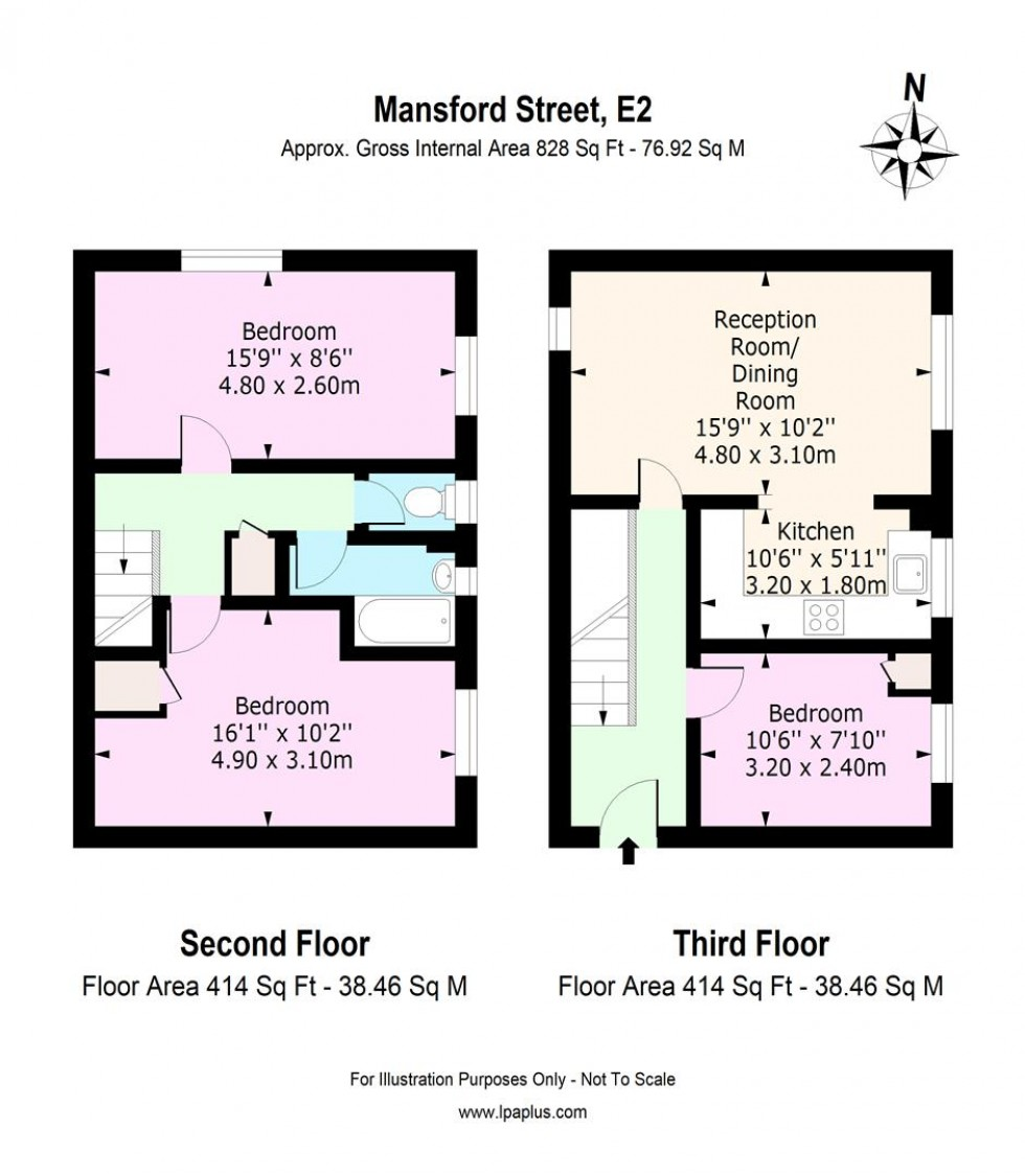 Floorplan for Mansford Street, London - EAID:ELMSESTATESAPI, BID:1